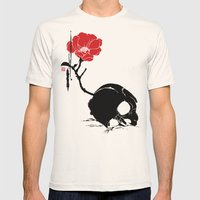 Still Alive Mens Fitted Tee Natural SMALL