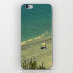 Lady on the Italian Riviera iPhone & iPod Skin