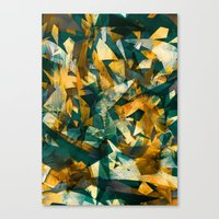 Raw Texture Canvas Print