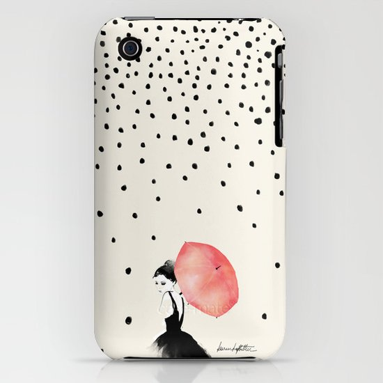 Polka Rain iPhone & iPod Case
