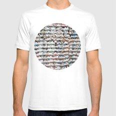snow Mens Fitted Tee SMALL White