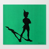 HE CAN FLY! (Peter Pan) Canvas Print