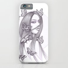 Black Butterfly iPhone 6s Slim Case