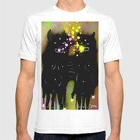 my evil twins Mens Fitted Tee White SMALL