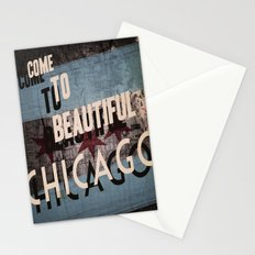 Come to Beautiful Chicago Stationery Cards