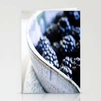 Black Berry Bowl Stationery Cards