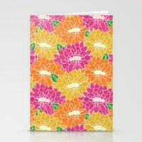 Paper Cut Floral Stationery Cards