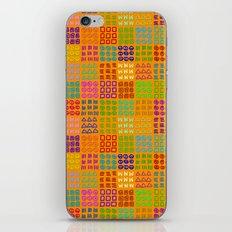 Aztec Wannabe (Orange) iPhone & iPod Skin