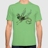 Winged Beast Mens Fitted Tee Grass SMALL