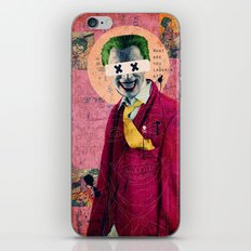 What Are You Laughin' At? iPhone & iPod Skin
