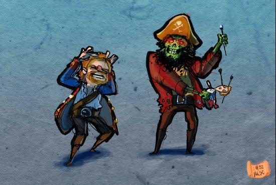Use Verb on Noun #32: Monkey Island 2: LeChuck's Revenge Art Print