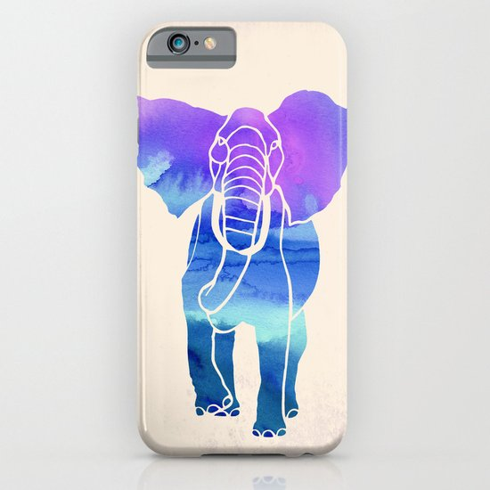 Watercolor Elephant iPhone & iPod Case