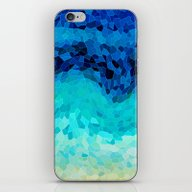 iPhone & iPod Skin featuring INVITE TO BLUE by Catspaws