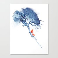 There's No Way Back Canvas Print