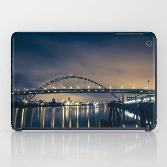 Fremont Bridge at Night iPad Case