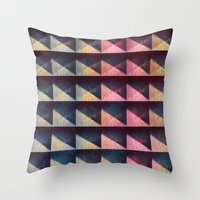 Musique Concrète Throw Pillow