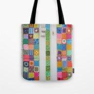 Crochet Splendour Tote Bag