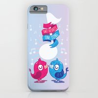 iPhone & iPod Case featuring Love Birds by Tratinchica