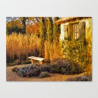 Le Jardin de Vincent Canvas Print