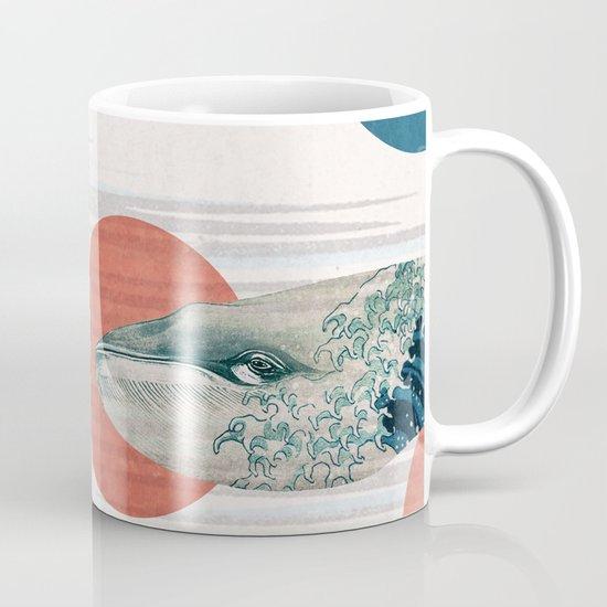 Whales and Polka Dots Mug
