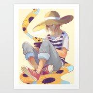 Kenma Art Print