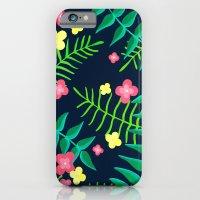 Natures Confetti Leaves  iPhone 6 Slim Case