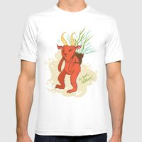 Krampus Mens Fitted Tee White SMALL