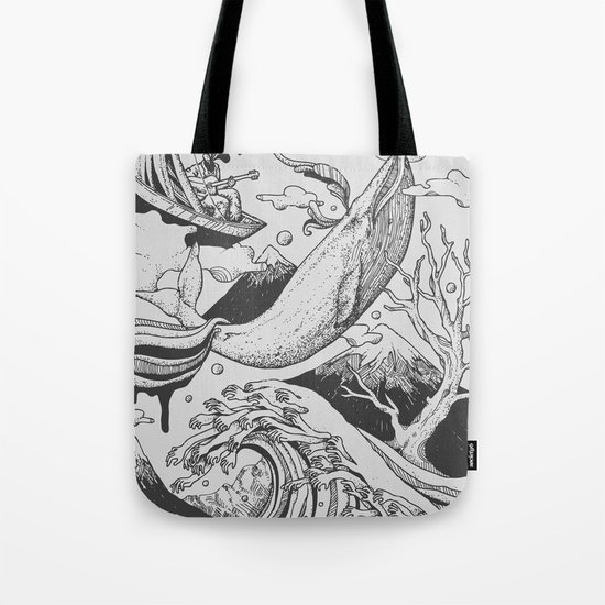 Deep and Blue Tote Bag