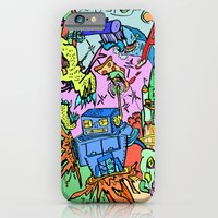 iPhone & iPod Case featuring A+ Tension (Attention) by Rat McDirtmouth
