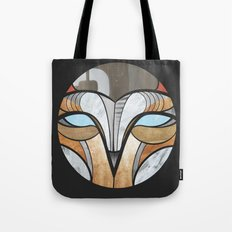 owl face Tote Bag