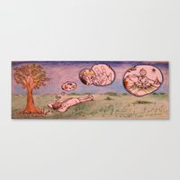 Clouds Of The Mind 2 Canvas Print