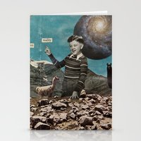 Hallucination Must Be Something More Than Reality Stationery Cards