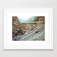Bridge To Nowhere Framed Art Print