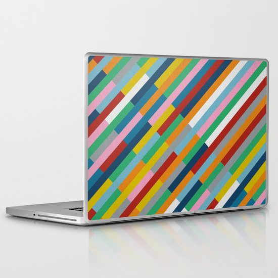 Bricks Rotate 45 Laptop & iPad Skin