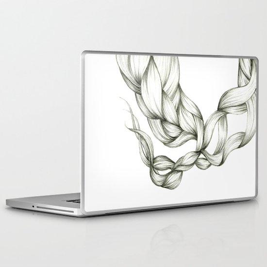 Whimsical Braids Laptop & iPad Skin