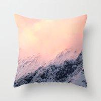 Mount Aspiring Throw Pillow