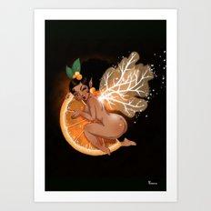 Fée Cointreau / Fairy Cointreau  Art Print