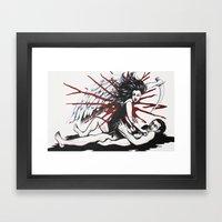 Do Avenging Angels Wear Knickers? Framed Art Print