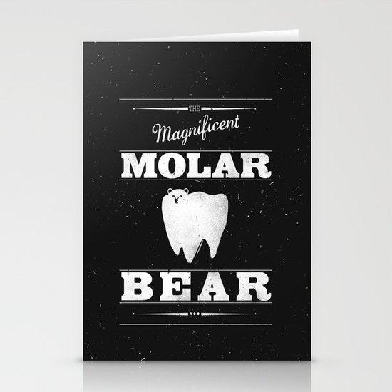 Molar Bear (Gentlemen's Edition) Stationery Card