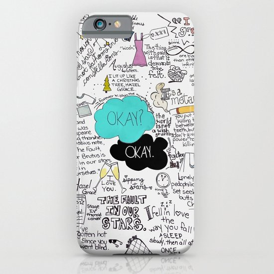 The Fault in Our Stars- John Green iPhone & iPod Case