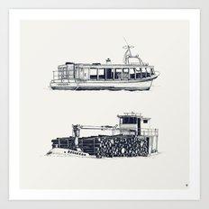 On paper: Hilberis y Requerdo Art Print