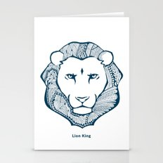 Zentangle Lion Stationery Cards