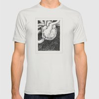 My thump thump Mens Fitted Tee Silver SMALL