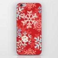 Snowflake Dream iPhone & iPod Skin