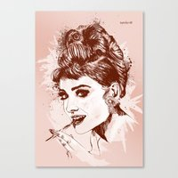 Love for Audrey Canvas Print