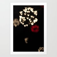 Heart Bloom Art Print