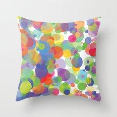 Candy Dots Throw Pillow