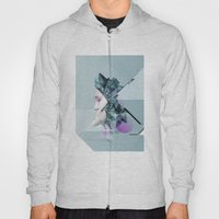 Faces Blue 03 Hoody