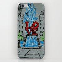 Little Love Park Sketch iPhone & iPod Skin