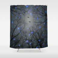The Sight Of The Stars M… Shower Curtain